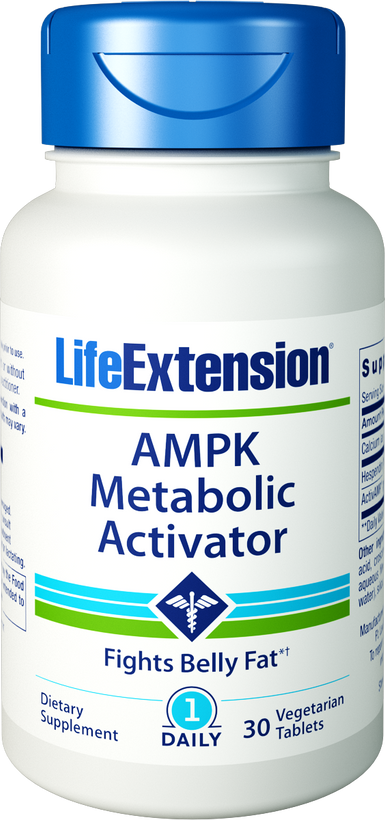 Life Extension AMPK Metabolic Activator 30 Veg Tablets