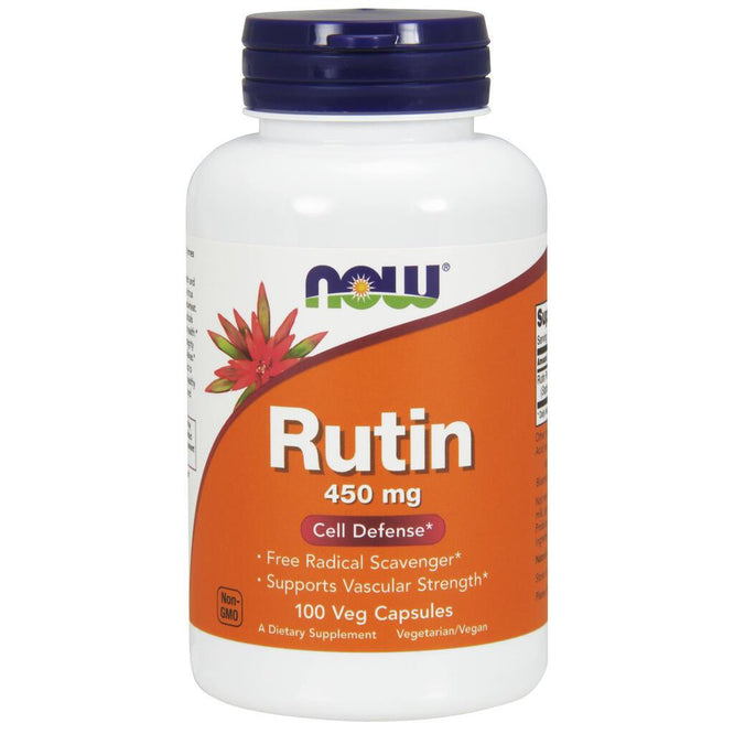 NOW Supplements Rutin 450 mg – 100 Veg Capsules