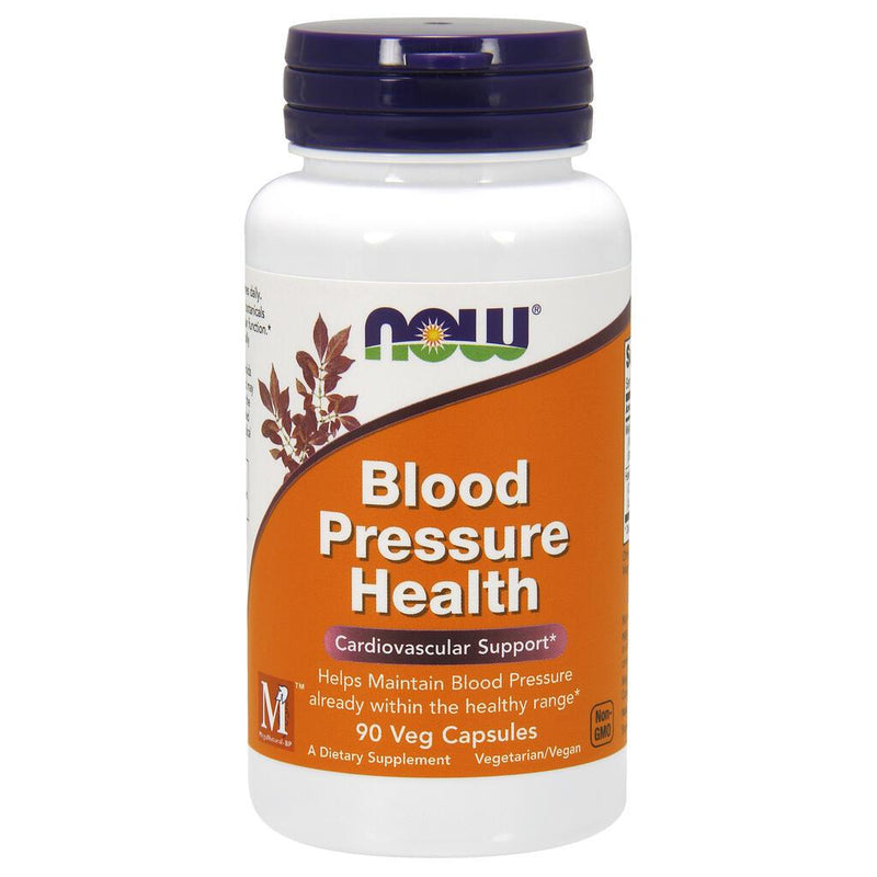 NOW Supplements Blood Pressure Health - 90 Veg Capsules