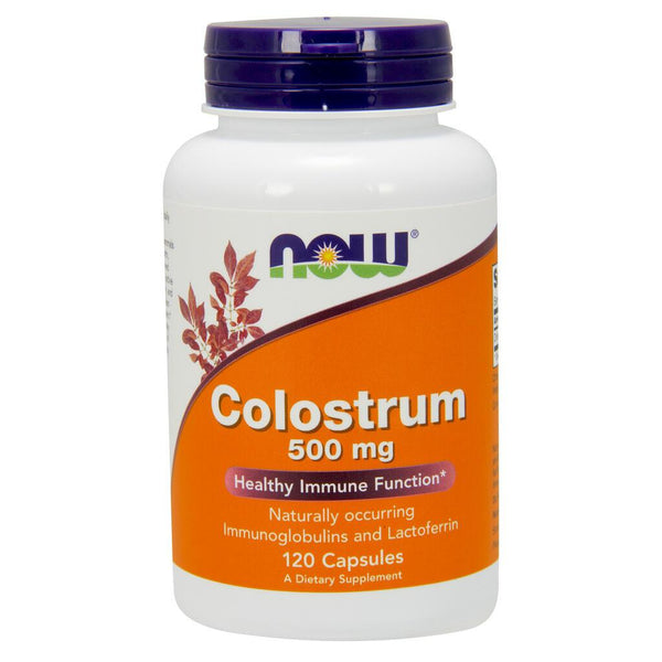 NOW Supplements Colostrum 500 mg – 120 Veg Capsules