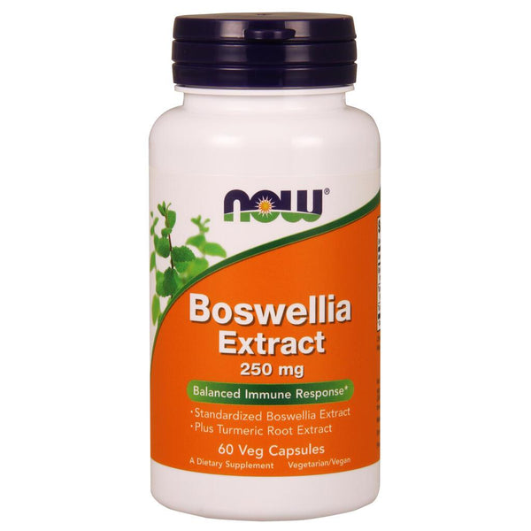 NOW Supplements Boswellia Extract 250 mg - 60 Veg Capsules