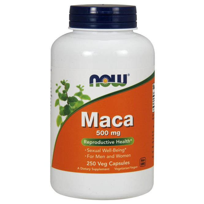 NOW Supplements Maca 500 mg – 250 Veg Capsules