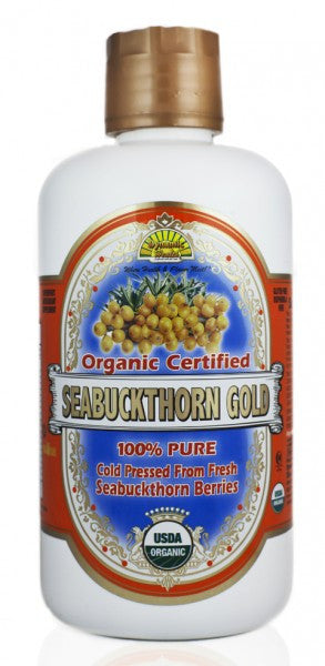 Seabuckthorn Gold Organic 32 fl oz (946 ml) by Dynamic Health