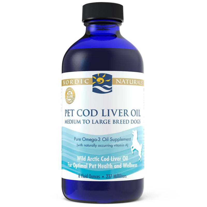 Pet Cod Liver Oil | 8 fl oz