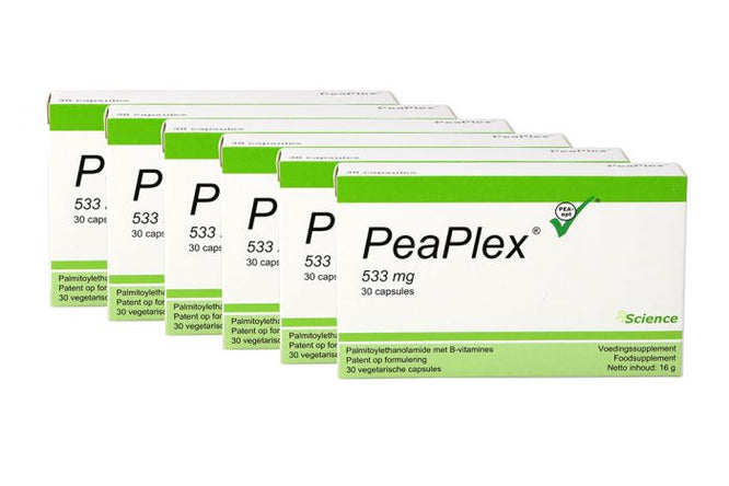 PeaPlex - 180 Capsules by JP Russell Science