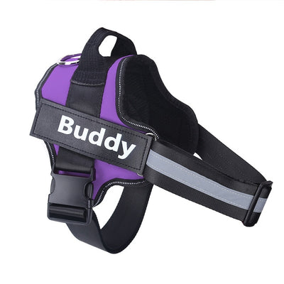 Dog Harness NO PULL with ID Custom Patch