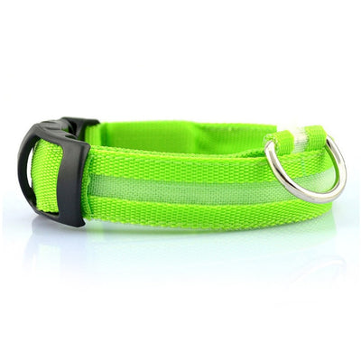 LED Pet Collar (Rechargeable)