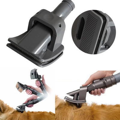 Vacuum Grooming Brush For Dogs