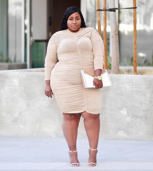 plus size mesh nude dress laceneleopard posh shoppe