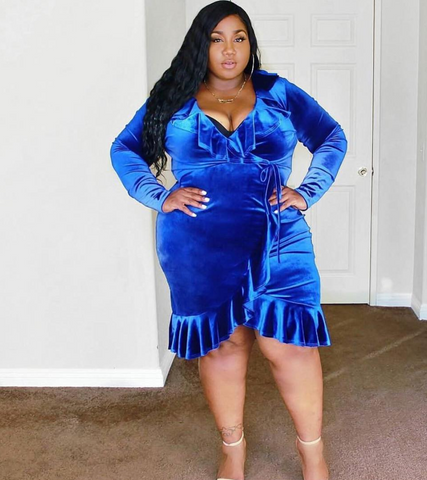 plus size velvet dress laceneleopard posh shoppe