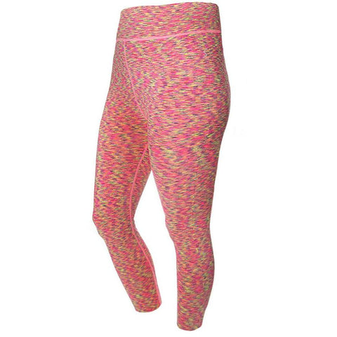 Plus Size Opaque Full Length Leggings, Nude