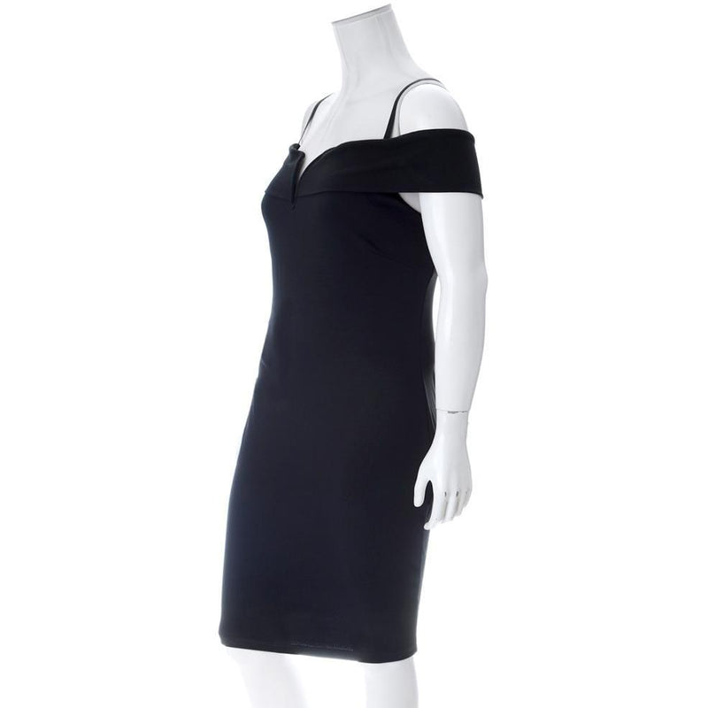 Posh Shoppe: Plus Size Bardot Little Black Dress Dress