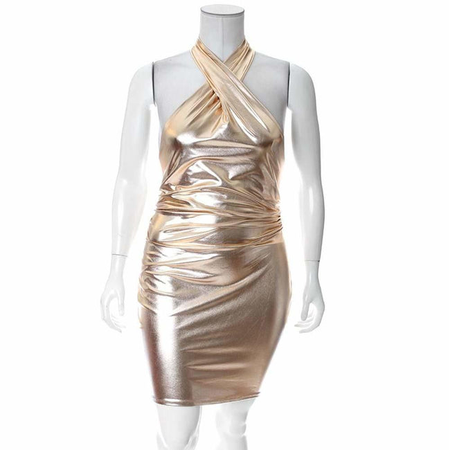 Plus Size Rose Gold Multiway Mini