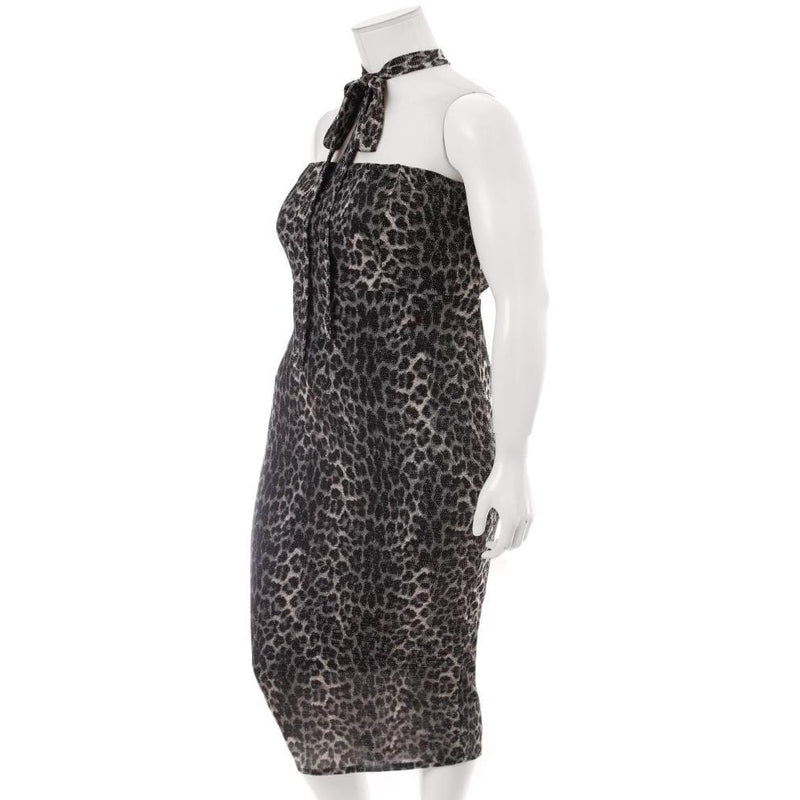 Posh Shoppe: Plus Size Tie Back Knit Dress, Animal Print Dress