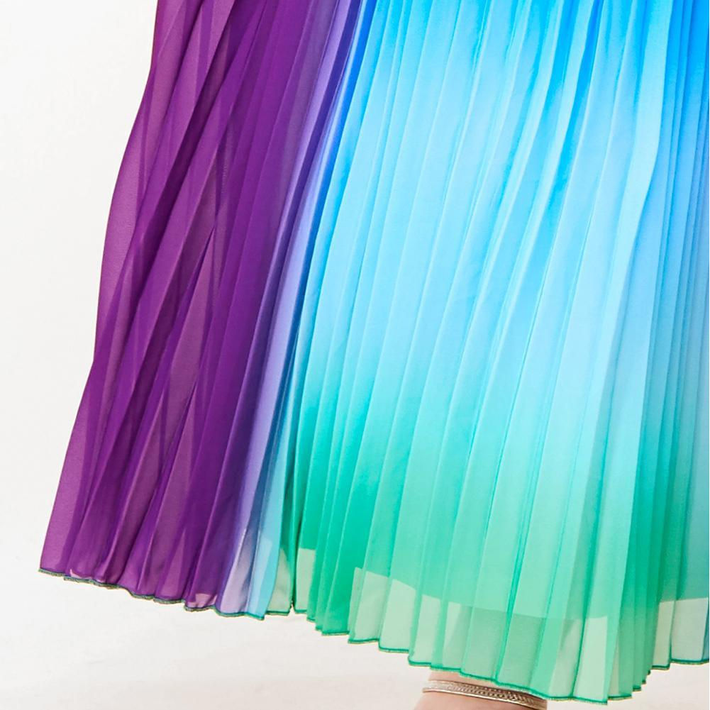 Posh Shoppe: Plus Size Rainbow Goddess Maxi Dress