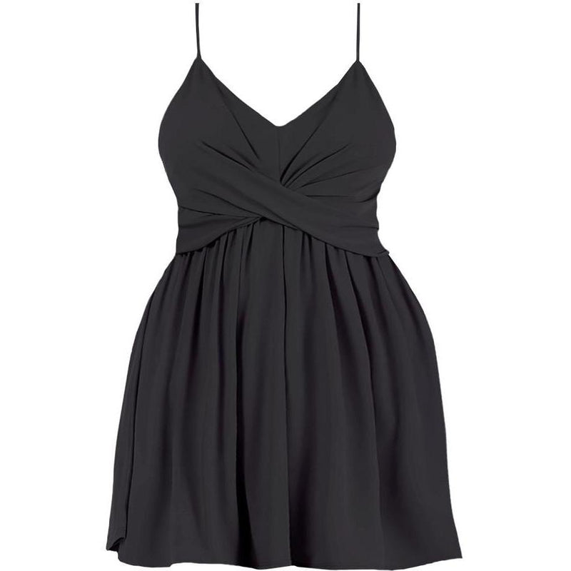 Plus Size Cascade Shift Dress