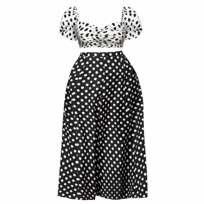 Plus Size Off Shoulder Gingham Dress, Black
