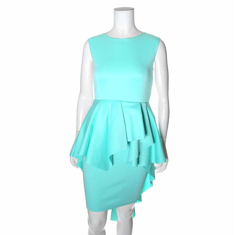 Posh Shoppe: Plus Size Cascade Shift Dress, Mint Dress
