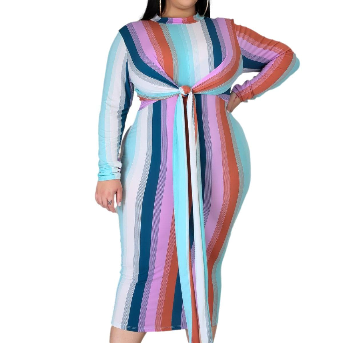 You're My Stripe Dress - Posh Shoppe