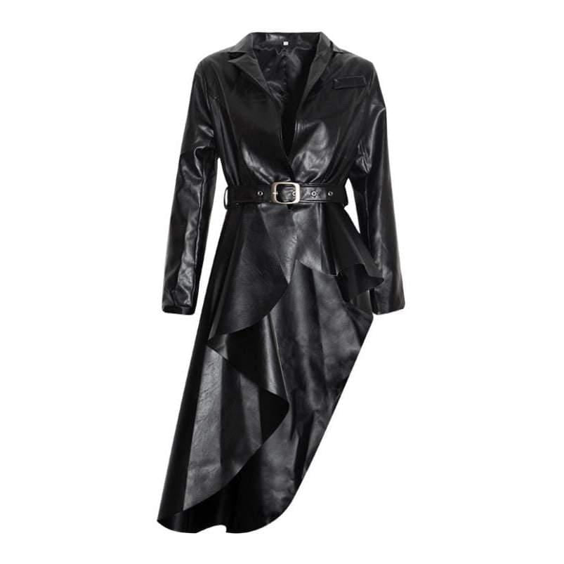 Posh Shoppe: High Low Peplum Jacket Dress