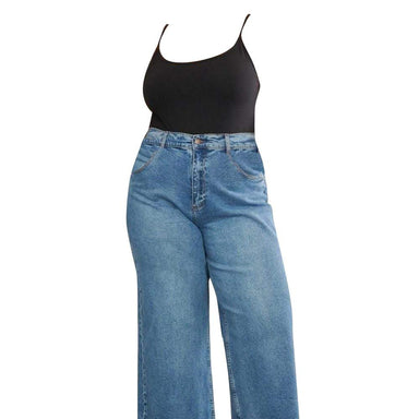 Posh Shoppe: Wide-leg Jeans Bottoms