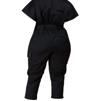 Black Utility Jumpsuit - Posh Shoppe