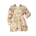 Posh Shoppe: Vintage Floral Print Fit And Flare Mini Dress Dress