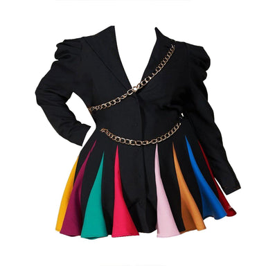 Posh Shoppe: Rainbow Mini Dress Dress