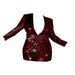 Posh Shoppe: Burgundy Sequins Mini Dress Dress