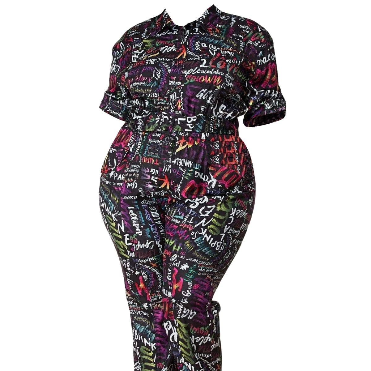 Posh Shoppe: Funky Groove Utility Jumpsuit Dress