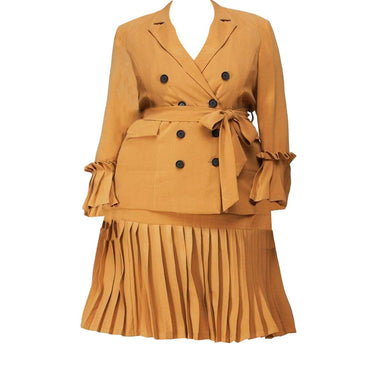 Posh Shoppe: Collared Blazer Dress Set Dress