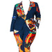 Posh Shoppe: Circus Party Print Blazer Set Dress