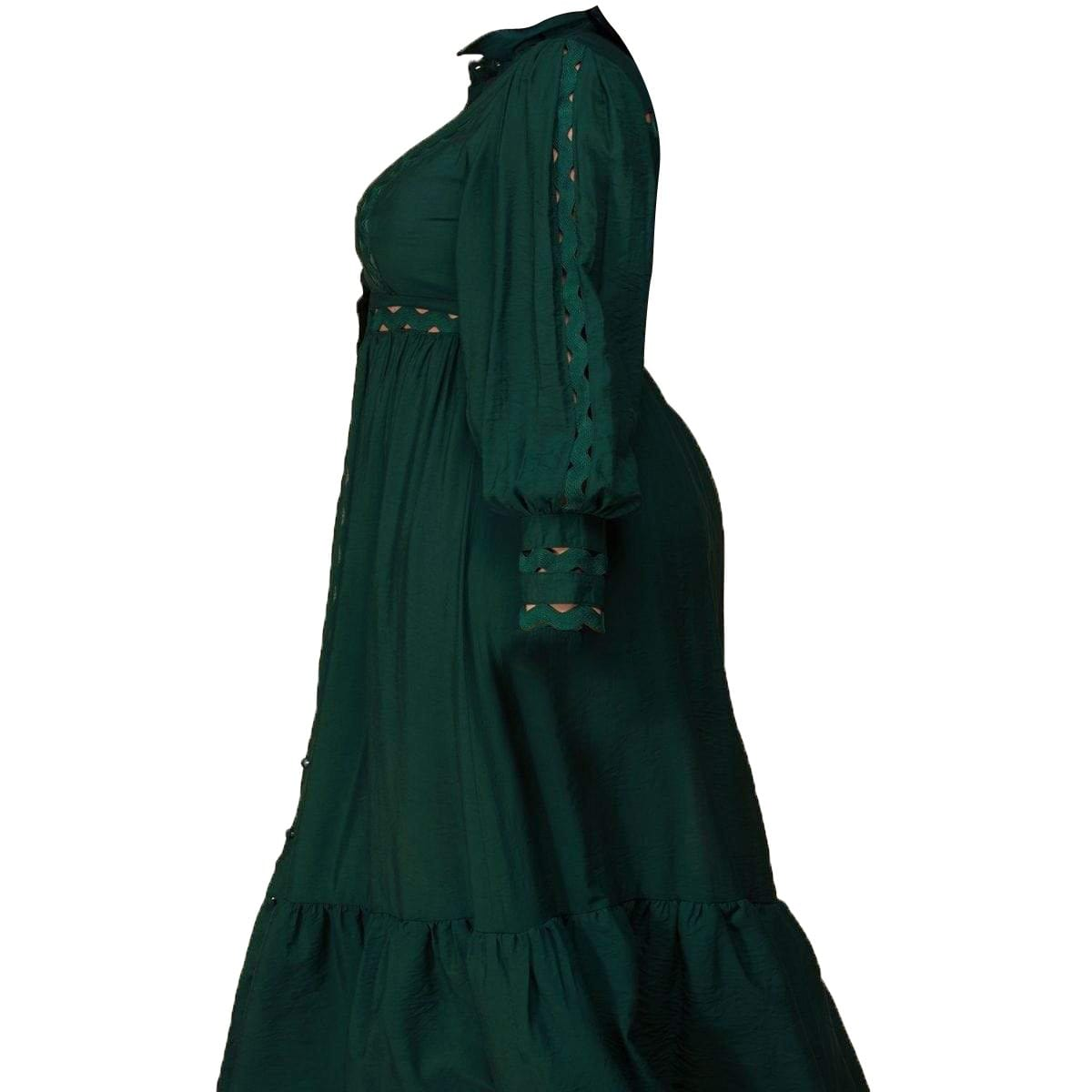 Posh Shoppe: Whimsical Maxi Dress- Teal Dress
