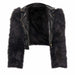 Posh Shoppe: Plus Size Vegan Fur and Leather Moto Jacket Outerwear