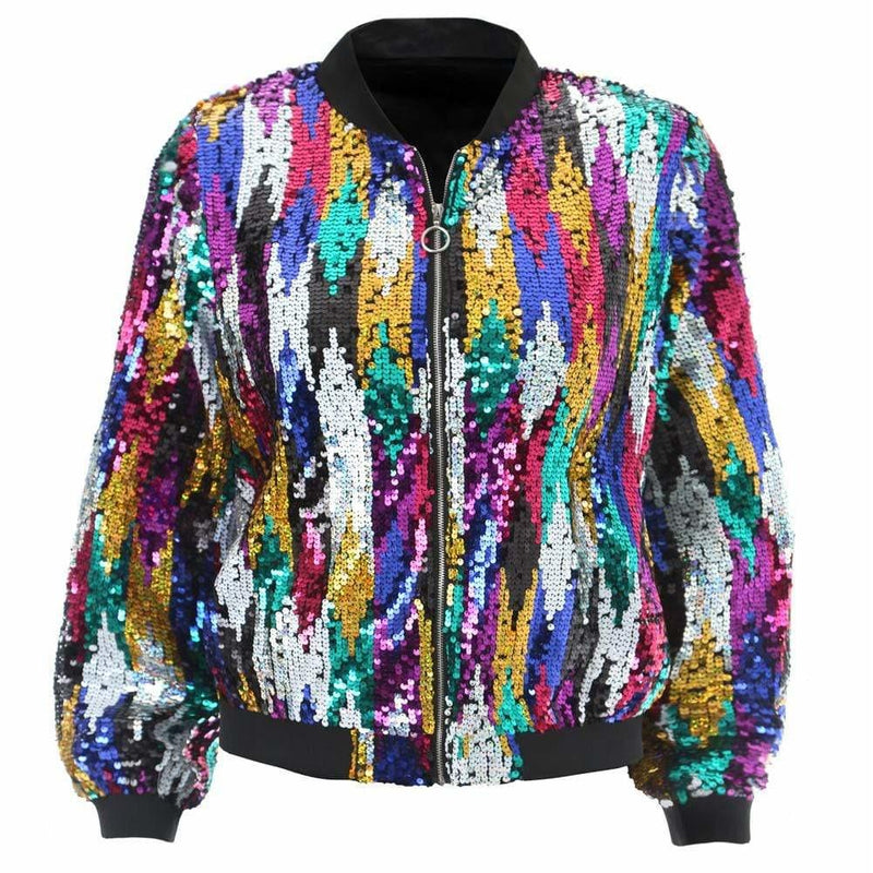 Plus Size Tassels and Tinsels Sweater Jacket, Firebird