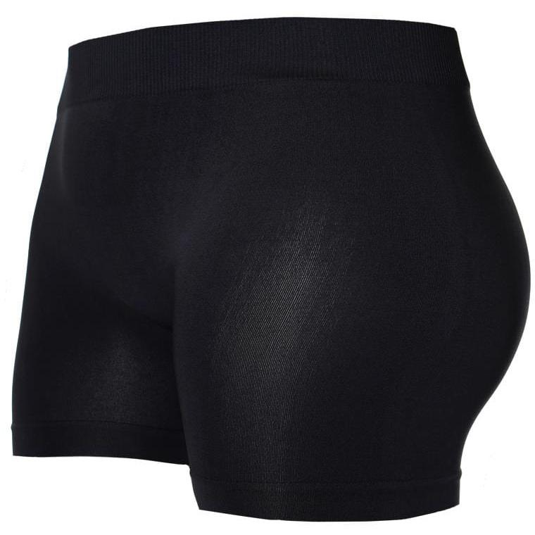 Plus Size Opaque Shorts, Black