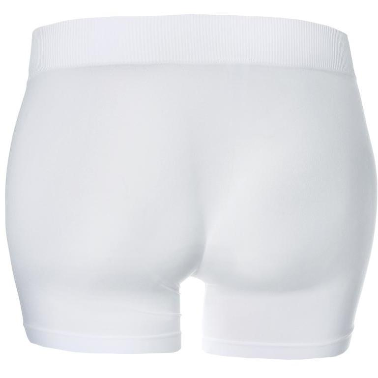 Plus Size Opaque Shorts, White