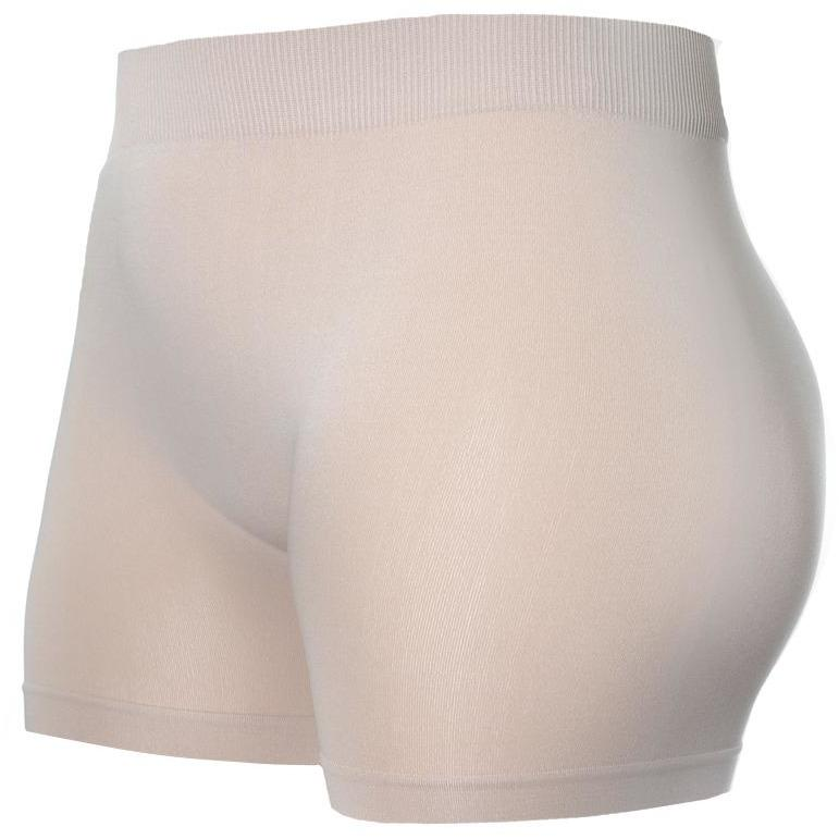 Plus Size Opaque Shorts, Nude