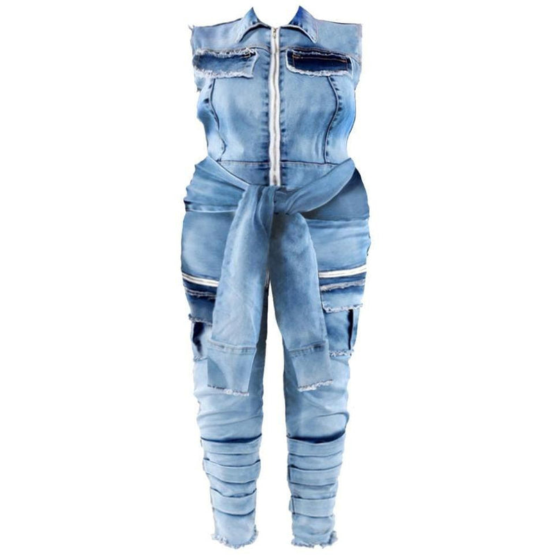 Plus Size Luxe Track Suit Set, Blue Garden
