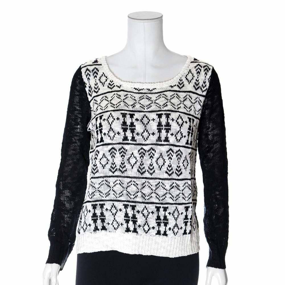 Posh Shoppe: Plus Size Tie Back Knit Sweater Tops