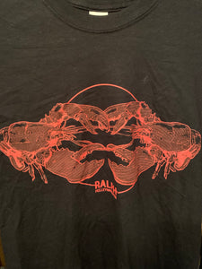 Lobster T shirt (black)