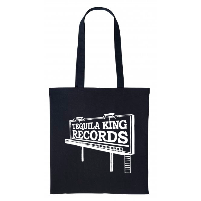 Tequila King records tote bag