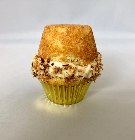 Keto Coconut Mini Cupcake Sandwich