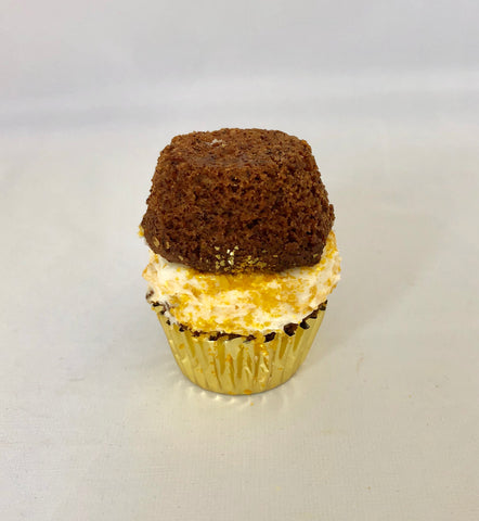 Keto Carrot Mini Cupcake Sandwich