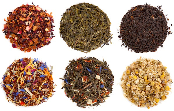 Tea 101 Get To Know Your Types Of Loose Leaf Tea Skinny