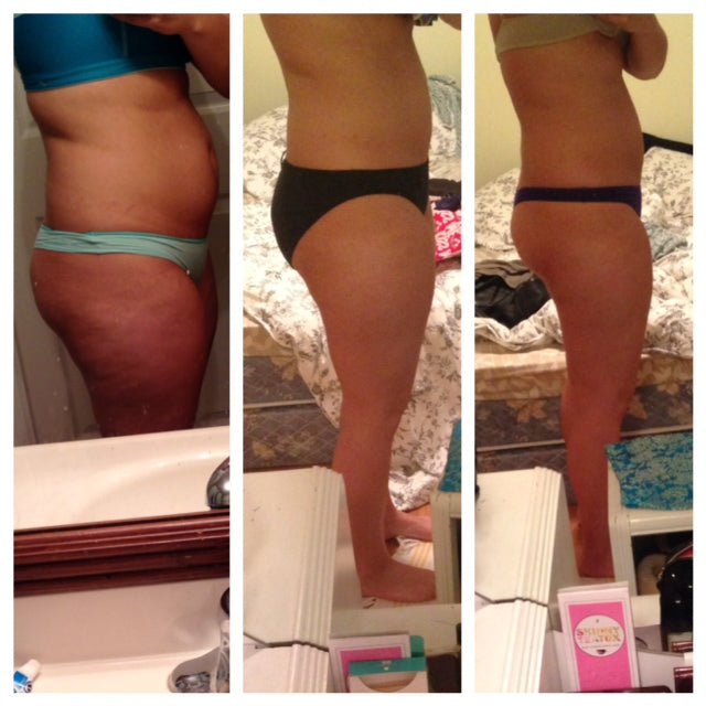 progress pic teatox 2