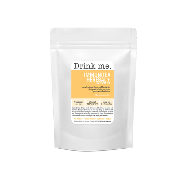 Drink Me Tea: ImmuniTEA  (NEW YEARS CLEARANCE)