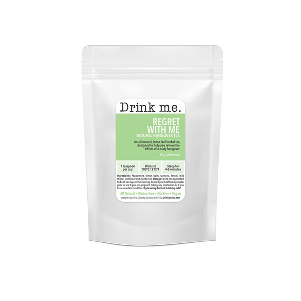 Drink Me Tea: Hangover Tea