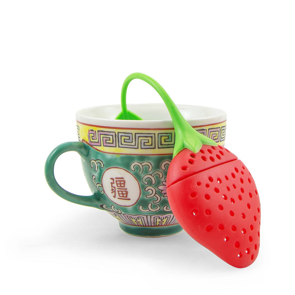 Strawberry Loose Leaf Tea Filter