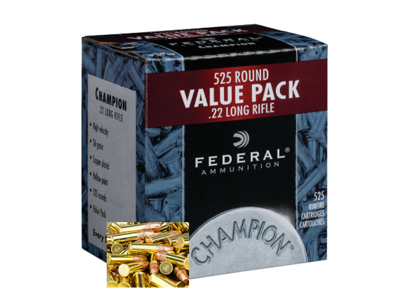 Federal .22 lr. HV HP Value Pack 525 Stk. - Waffen Paar KG